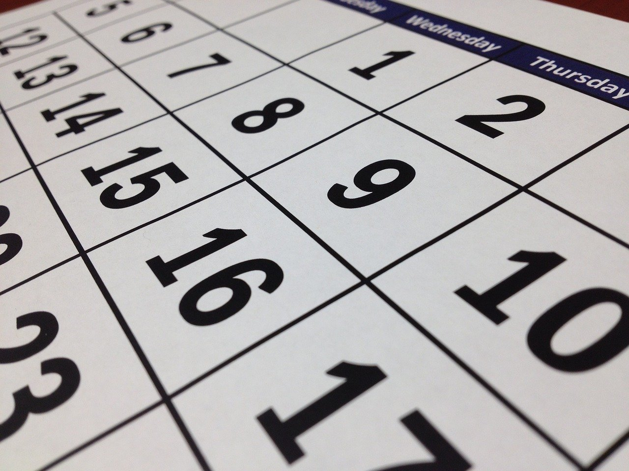 Be sure to choose the right date and time for your move.